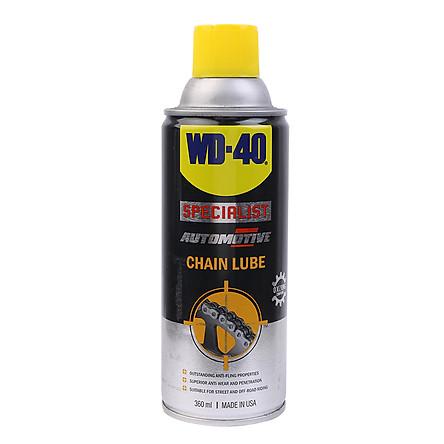 Chai Xịt Vệ Sinh Sên Xích WD-40 Chain Lube 351020 (360ml)