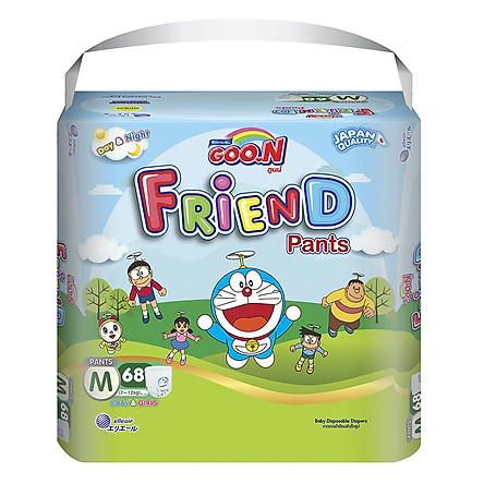 Tã Quần Goo.n Friend Gói Siêu Đại M68 (68 Miếng)