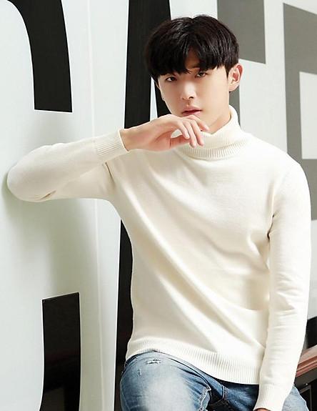 Áo len nam cổ lọ ArcticHunter, chất len mềm mịn, thời trang trẻ, thương hiệu chính hãng