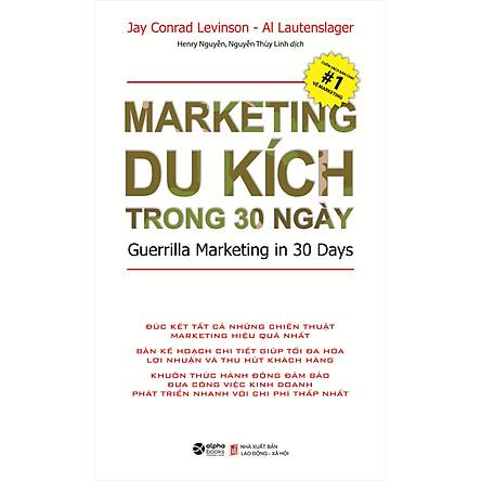 Marketing Du Kích Trong 30 Ngày (Tái Bản 2020)