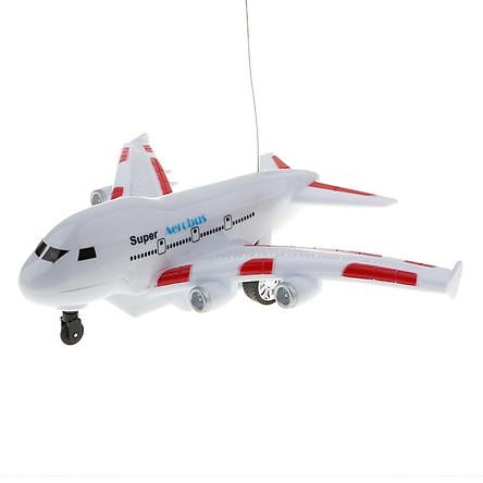 Mô Phỏng Điện Tử Điều Khiển Từ Xa Aerobus RC Máy Bay Đồ Chơi Trẻ Em Đồ Chơi Trẻ Em Quà Tặng Sinh Nhật-Đỏ