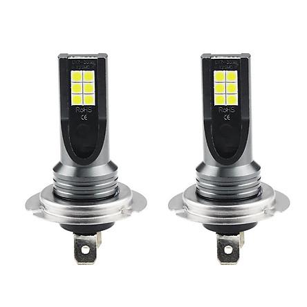 Car Fog Light 3030 12LED H7 DC12V-24V 24W LED Headlight Daytime Running Light LED Bulb