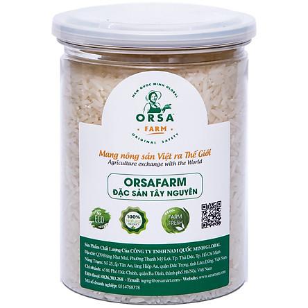 Gạo Đặc Sản OrSaFarm Tây Nguyên Buôn Choah Vietgap 500g, 800g, Hộp Quà Gạo 4kg, Hộp Quà Gạo 4.5kg, 5kg