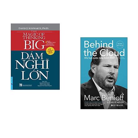 Combo 2 cuốn sách: Dám Nghĩ Lớn + Khi hạt nước hóa đám mây