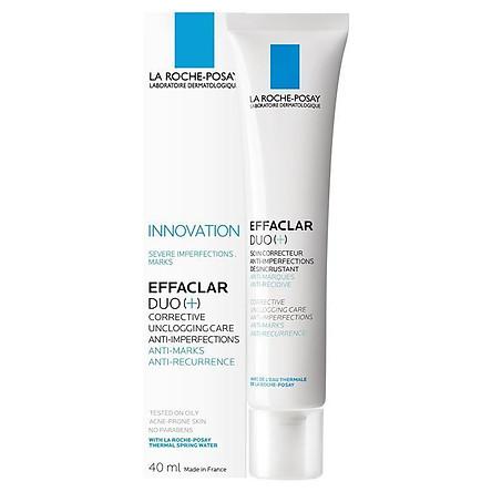 La Roche-Posay Effaclar Duo (+) Anti-Acne Cream 40ml