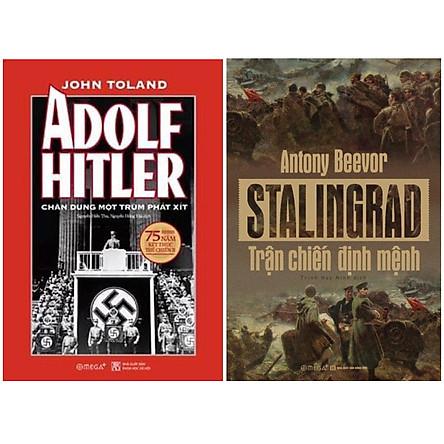 Combo Sách : Adolf Hitler – Chân Dung Một Trùm Phát Xít (Tái Bản 2020) + Stalingrad – Trận Chiến Định Mệnh