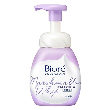 Bọt Rửa Mặt Kiểm Soát Nhờn Biore Marshmallow Whip Oil Control 150ml