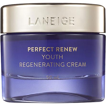Kem dưỡng giúp ngăn chặn các dấu hiệu lão hóa sớm LANEIGE Perfect Renew Youth Regenerating Cream 50ml