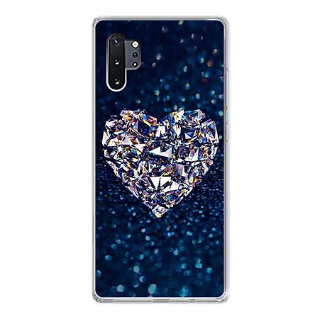 Ốp lưng dẻo cho điện thoại Samsung Galaxy Note 10 Plus - 0420 HEART11 - Hàng Chính Hãng