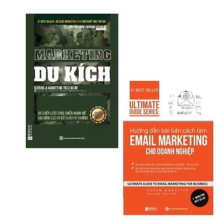 Combo sách: Marketing Du Kích - 30 Chiến Lược Thực Chiến Mạnh Mẽ Tạo Động Lực Và Kết Quả Phi Thường + Hướng dẫn bài bản cách làm Email Marketing cho doanh nghiệp   Ultimate Guide Series