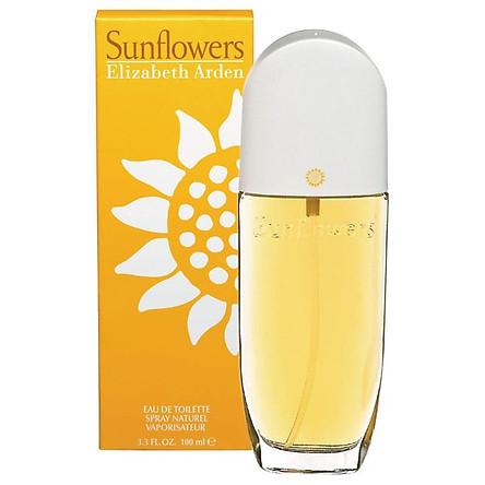 Dầu Thơm Sunflowers By Elizabeth Arden Eau De Toilette Spray 100Ml