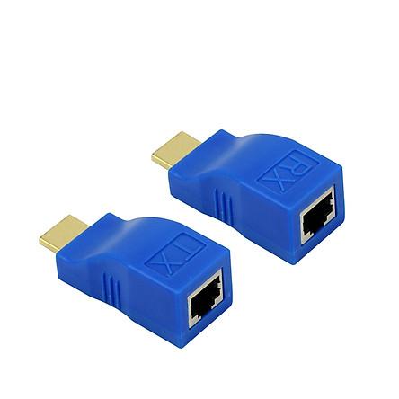 Bộ kéo dài HDMI Extender 30m qua cáp mạng Cat5E,6 chuẩn RJ45 AZONE