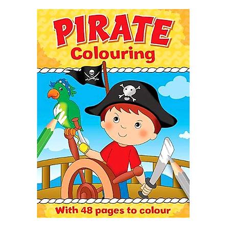 Sách tô màu Pirate Colouring