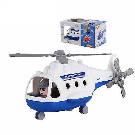 Máy bay trực thăng cảnh sát Alphađồ chơi - Polesie Toys