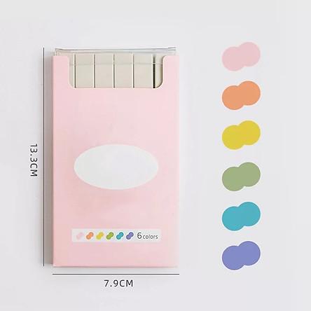 Bộ Bút Highlight Trang Trí Sticker DIY - Tặng kèm sticker
