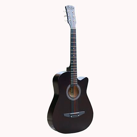 Đàn Guitar Thùng Woim Dáng Khuyết Full Phụ Kiện Tặng Khoá học Miễn Phí