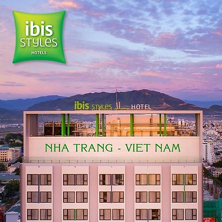 iBis Styles Nha Trang Hotel 4* - Buffet Sáng, Hồ Bơi, Gần Ngay Biển, Tháp Trầm Hương, Chợ Đêm