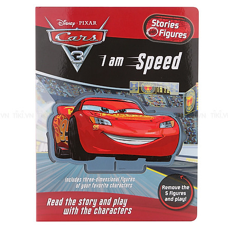 Disney Pixar Cars 3 - I Am Speed - Stories With Figures