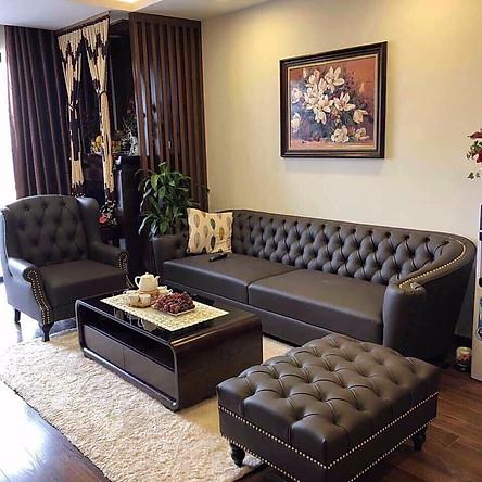 Bộ sofa phong cách tân cổ điển.