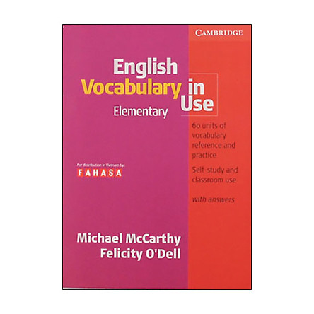 English Vocabulary In Use Ele. FAHASA Reprint Edition