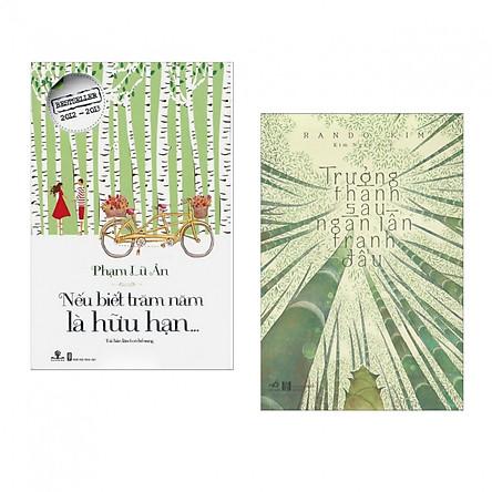 Combo 2 cuốn sách văn học hay nhất: Nếu Biết Trăm Năm Là Hữu Hạn + Trưởng Thành Sau Ngàn Lần Tranh Đấu (Tặng kèm Bookmark Happy Life)