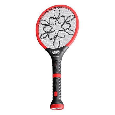 Bộ Vợt Muỗi Đa Năng Điện Quang ĐQ EMR06L BLR - Đen Phối Đỏ