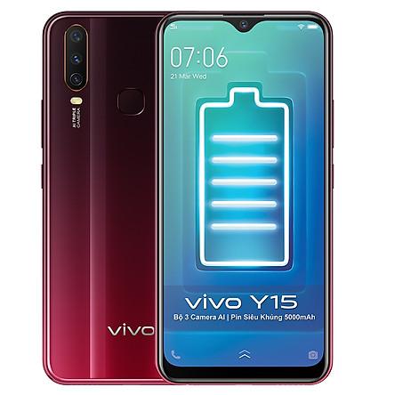Điện Thoại Vivo Y15 (4GB/64GB) - Hàng Chính Hãng