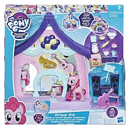 Đồ Chơi Búp Bê MY LITTLE PONY Lớp Học 2 Trong 1 Của Pinkie Pie E1929
