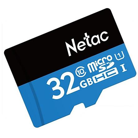 Thẻ Nhớ Micro SD Netac 32GB - Hàng Chính Hãng