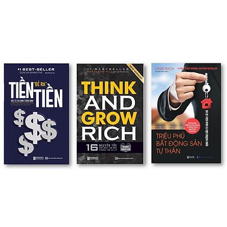 Combo Tiền Đẻ Ra Tiền – Đầu Tư Tài Chính Thông Minh ,Triệu Phú Bất Động Sản Tư Thân: Định Hướng Đầu Tư Mua Đâu Lãi Đó ,Think and Grow Rich: 16 Nguyên tắc nghĩ giàu làm giàu trong thế kỉ 21