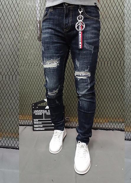 Quần jeans Nam Titishop Cao cấp QJ257