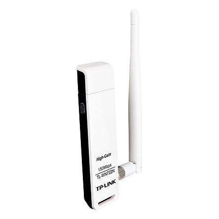 TP-Link  TL-WN722N - USB Wifi (high gain) tốc độ 150Mbps - Hàng Chính Hãng