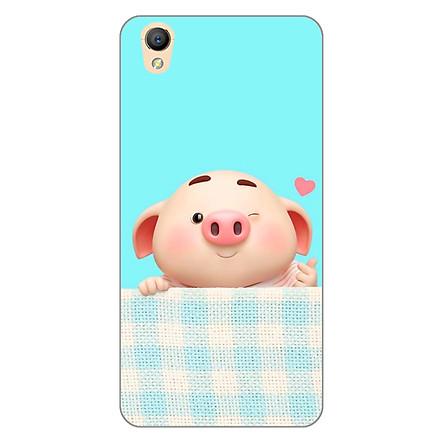 Ốp lưng dẻo cho điện thoại Oppo Neo 9 (A37) _Pig Cute 07
