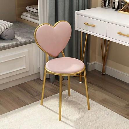 Ghế bàn trang điểm hình trái tim | Tiki