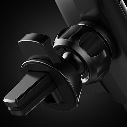 KOOLIFE car phone holder air outlet snap-on navigation bracket car supplies car phone bracket universal gravity induction bracket black