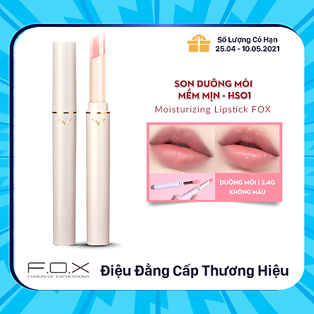 Son Dưỡng Môi Mềm Mịn F.O.X Moisturizing Lipstick 2.4g