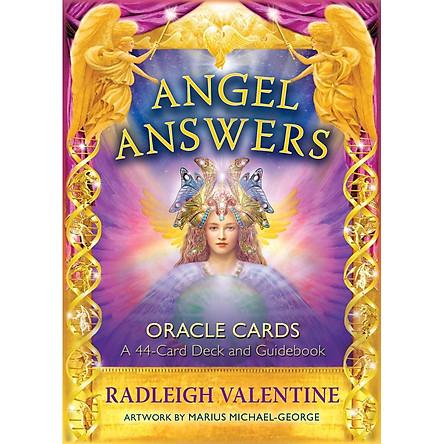 Bộ Tarot Angel Answers Oracle Cards Bài Bói New