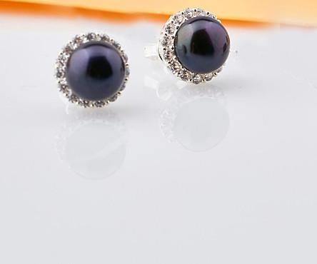 Bông tai bạc đính ngọc trai thiết kế từ thương hiệu OPAL