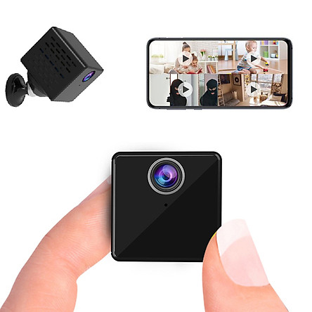 Camera Mini IP Vstarcam C90S 2 Trong 1 Camera Giám Sát Chống Trộm Và Camera Hành Trình Ô Tô 2.0M Full HD 1080P WiFi Siêu Nhỏ Gọn, Hồng Ngoại Ẩn Ban Đêm, Xem Trực Tiếp Từ Xa Bằng Điện Thoại, PC, iPad - Hàng Chính Hãng