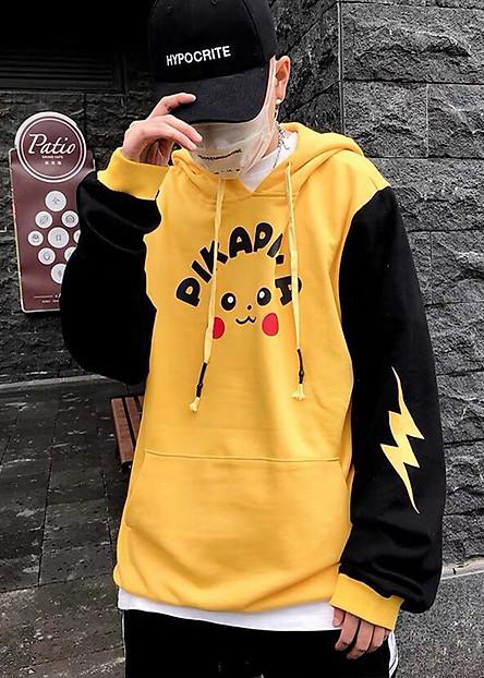 Áo Khoác Hoodie Nam Pikachu  TKLZB34S