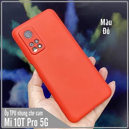 Ốp lưng cho Xiaomi Mi 10T Pro - Redmi K30S , nhựa TPU dẻo màu lót nhung che camera