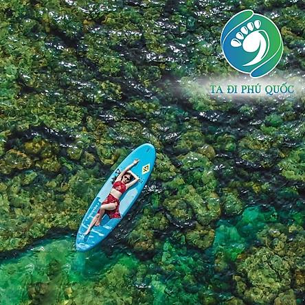 [Phú Quốc] Tour Cano 4 Đảo - Cáp Treo Hòn Thơm - Sunset Sanato 01 Ngày, Miễn Phí Quay Flycam, Chụp Hình Phao Sup, Gồm Bữa Trưa Hải Sản, Khởi Hành Hàng Ngày