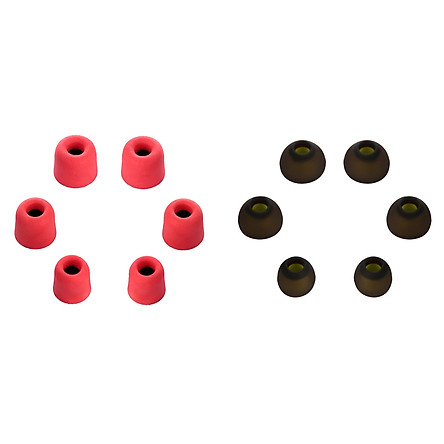 Hộp 3 Cặp Mút Bọc Và 3 Cặp Nút Tai Nghe Silicone Thay Thế Cho Tai Nghe New Bee