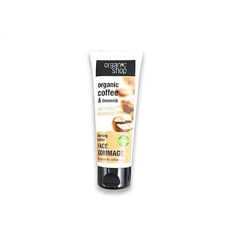 Tẩy Tế Bào Chết Da Mặt Organic Shop Organic Face Gommage 75ml (hàng Europe)