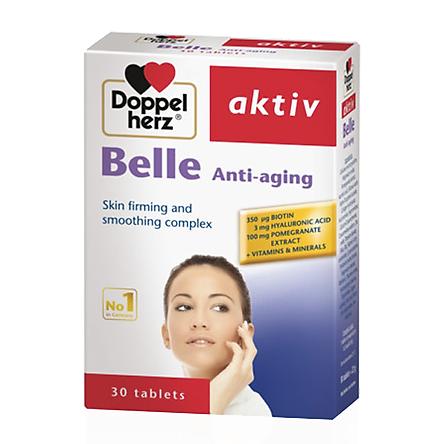 Thực Phẩm Chức Năng Chống Lão Hóa Da DoppelHerz Belle Anti-Aging (30 viên)