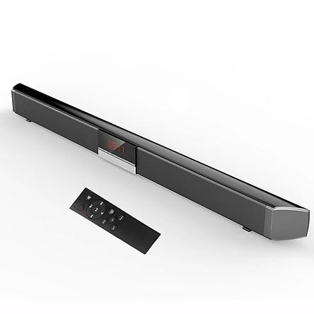 Loa soundbar tivi 3D âm thanh nổi kết nối không dây SR100 PLUS ( hàng nhập khẩu ) có phíc cắm đa năng đi  kèm