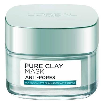 Mặt Nạ Đất Sét L'Oreal Paris Pure Clay Mask Anti-Pores (50g)