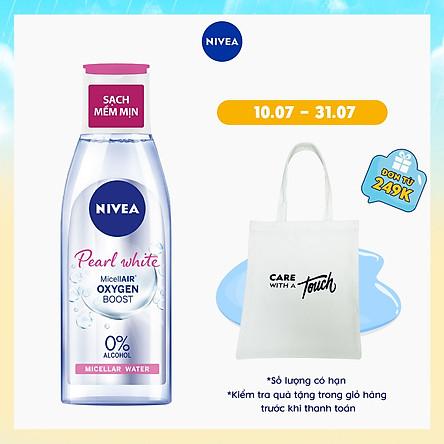 Nước Tẩy Trang NIVEA Pearl White Làm Sáng Da Micellar Water (200ml) - 84911