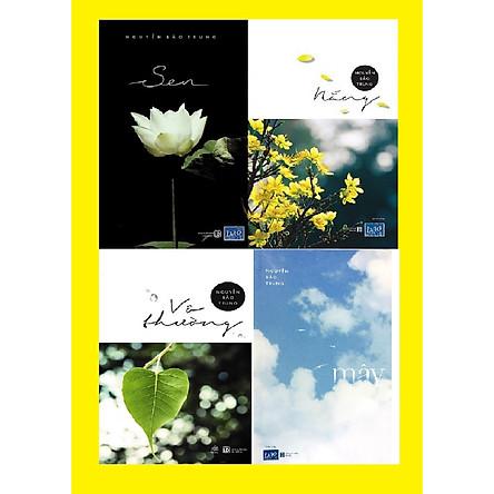 Combo Mây - Nắng - Sen - Vô thường (Bộ 4 Cuốn) - tác gải: Nguyễn Bảo Trung