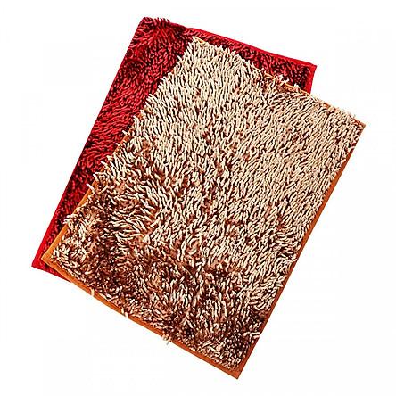Combo 2 thảm lau chân san hô cỡ đại 40 x 60cm